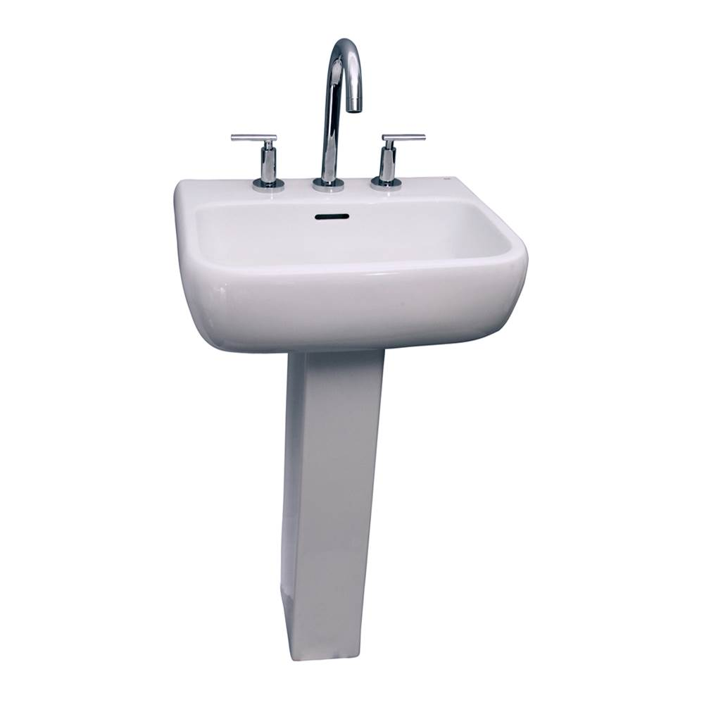 Barclay Complete Pedestal Bathroom Sinks item 3-1001WH