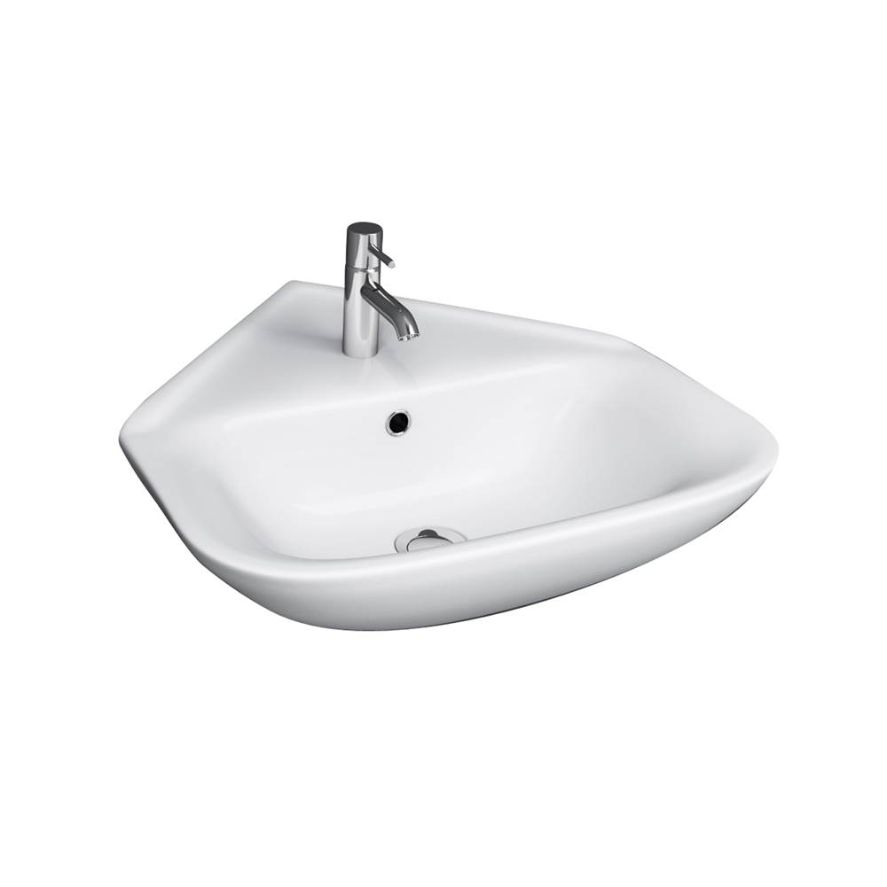 Barclay Wall Mounted Bathroom Sink Faucets item 4-1109WH