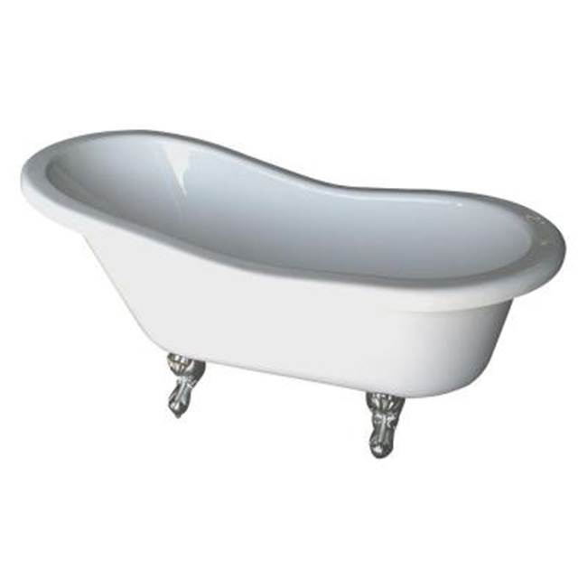 Barclay Clawfoot Soaking Tubs item ADTS67-WH-WH