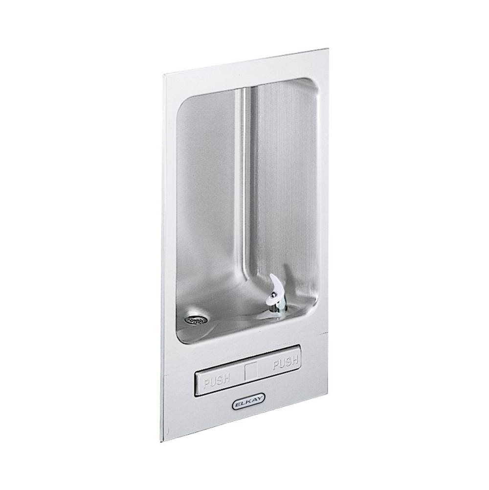 Elkay Elkay Wall Mount Fully Recessed Fountain Non-Filtered, Non-Refrigerated Stainless