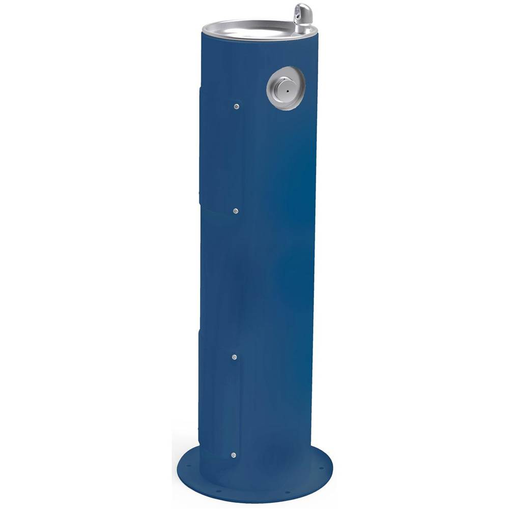 Elkay Elkay Outdoor Fountain Pedestal Non-Filtered, Non-Refrigerated Blue