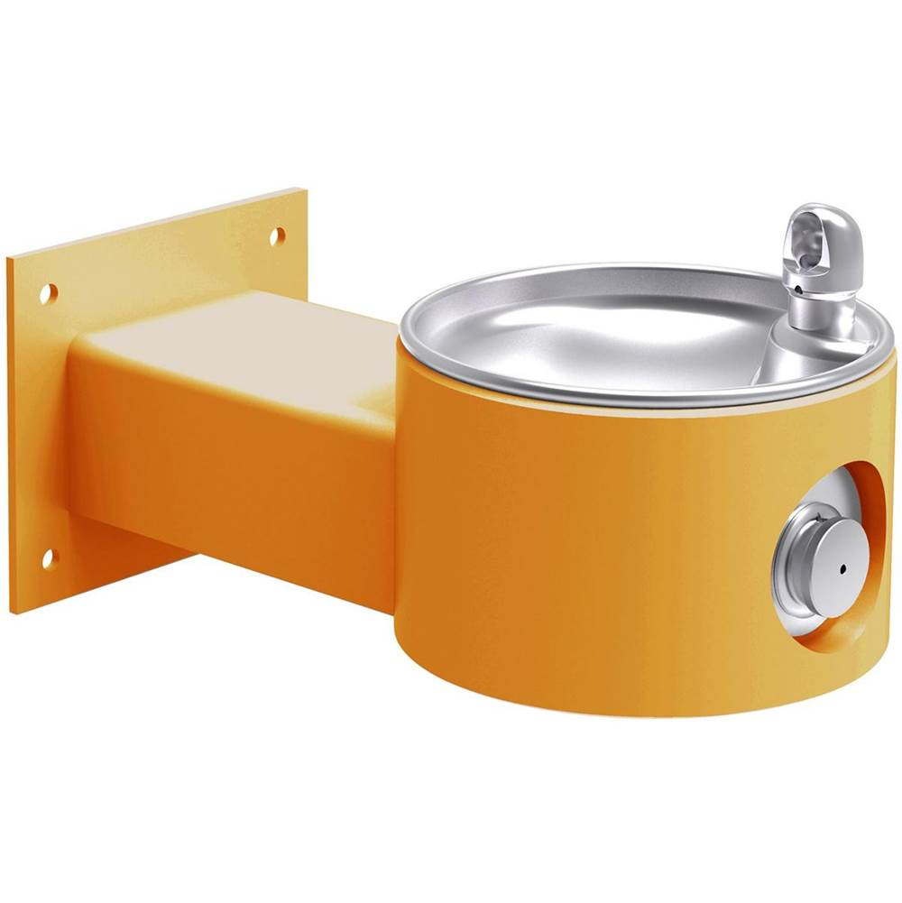 Elkay Elkay Outdoor Fountain Wall Mount, Non-Filtered Non-Refrigerated, Yellow