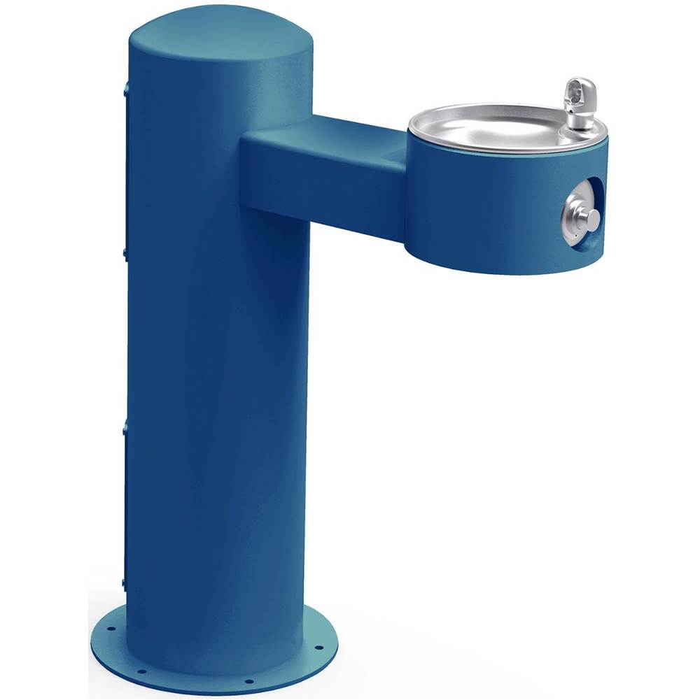 Elkay Elkay Outdoor Fountain Pedestal Non-Filtered, Non-Refrigerated Freeze Resistant Blue