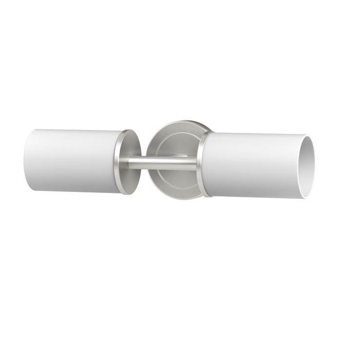 Gatco Latitude II Double Sconce Satin Nickel