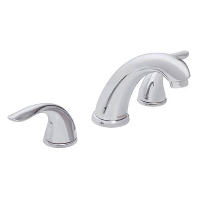 Gerber Plumbing Viper 2H Widespread Lavatory Faucet w/ 50/50 Touch Down Drain 1.2gpm Chrome