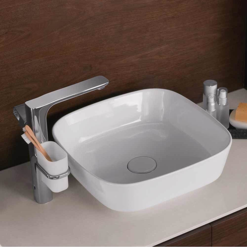 Ronbow Vessel Bathroom Sinks item E032002-WH